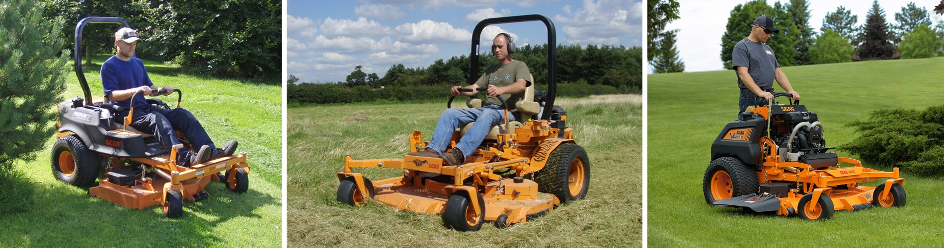 STM - Scag Mowers, Rotary Mowers, Professional Walk Behind, Ride on