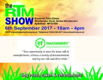 RT Machinery Show Invitation - Wednesday 6th September 2017 WEB 2